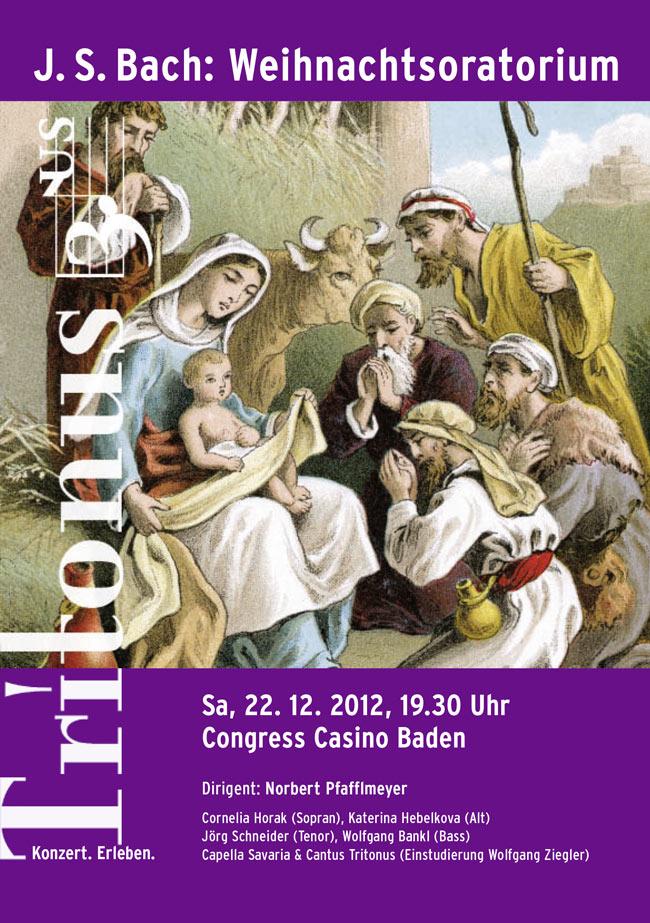 Tritonus Baden: Weihnachtsoratorium von J. S. Bach