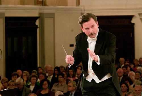 Dirigent Norbert Pfafflmeye, Foto: Christian Schörg