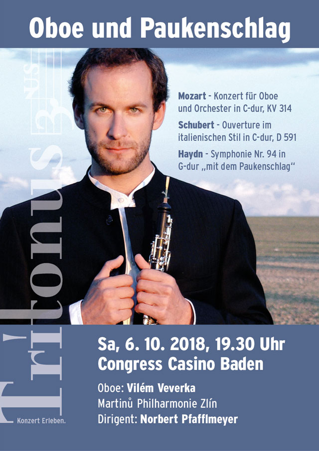 Tritonus Baden, Konzert Oktober 2018