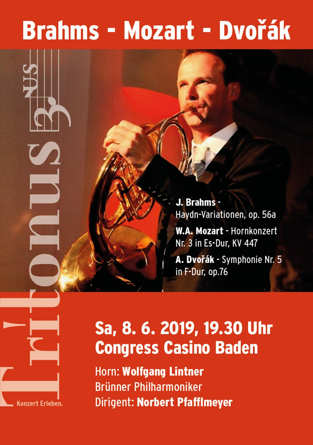 Konzert-Tritonus-Baden Brahms – Mozart - Dvořák